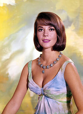 Wood Necklace Photograph - Natalie Wood by Everett