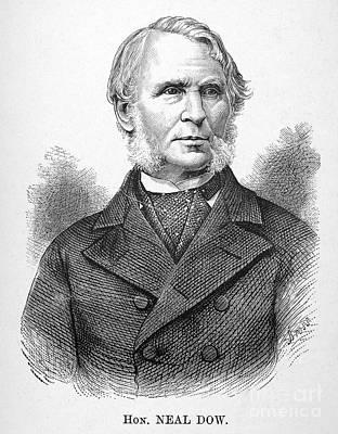 Neal Dow (1804-1897) Art Print by Granger