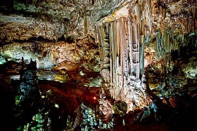Nerja Caves In Spain Art Print by Artur Bogacki