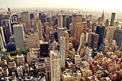 New York City Skyline Photograph - New York City by Vivienne Gucwa