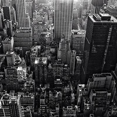 Skylines Photograph - New York New York - Ny by Joel Lopez