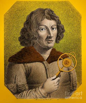 Nicolaus Copernicus, Polish Astronomer Art Print