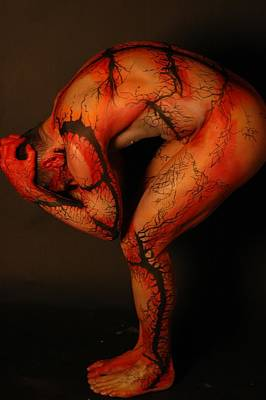 Erotic Photograph - Nova Body Painting by RoByn Thompson