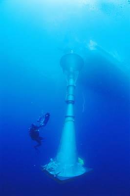 Ocean Technology Art Print