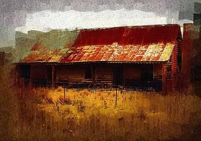 Digital Art - Old House In Australia by Fran Woods