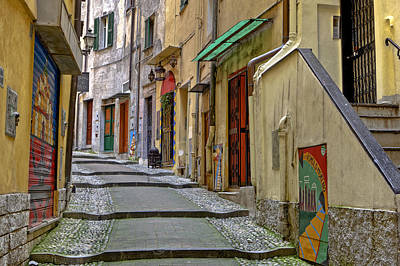 Old Town Of Sanremo Art Print by Joana Kruse