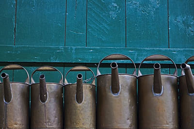 Old Watering Cans Art Print by Joana Kruse