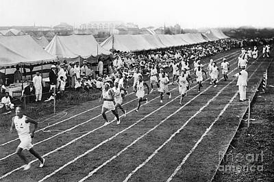 Footrace Photograph - Olympic Games, 1912 by Granger