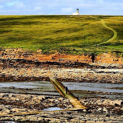 Landscapes Wall Art - Photograph - #orkney's #landscape by Luisa Azzolini