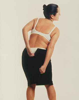 Overweight Woman Art Print by Cristina Pedrazzini