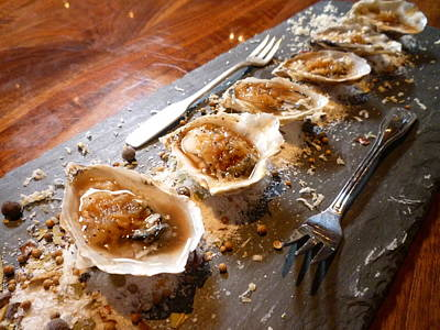 Wall Art - Photograph - Oysters by Mary McGrath