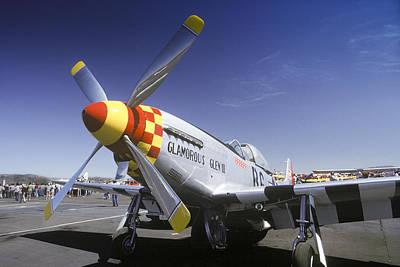 Photograph - P-51 Mustang by Joe  Palermo