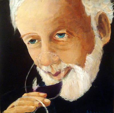 Papa Pinot Art Print