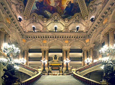 Photograph - Paris Opera House by Al Hurley