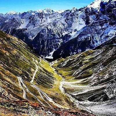 Mountain Wall Art - Photograph - Passo Stelvio by Luisa Azzolini