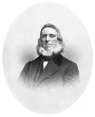 Lapel Photograph - Peter Cooper (1791-1883) by Granger