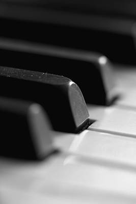 Piano Keys Art Print by Falko Follert