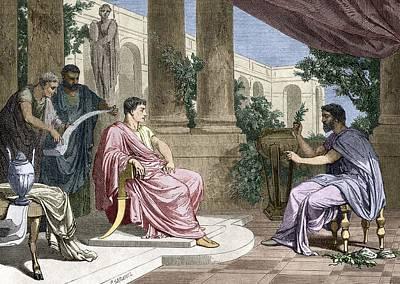 Naturalis Photograph - Pliny The Elder, Roman Naturalist by Sheila Terry
