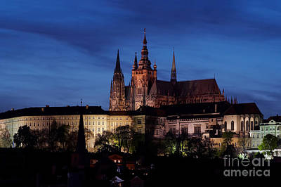 Cityspace Photograph - Prague Castle by Michal Boubin