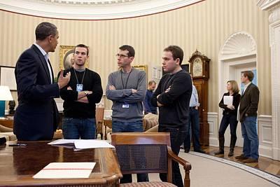 President Obama Meets Print by Everett