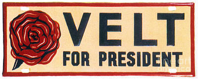Presidential Campaign, 1932 Art Print by Granger