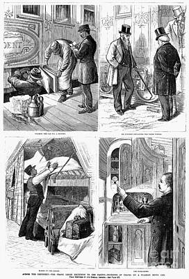 Pullman Car, 1877 Art Print by Granger