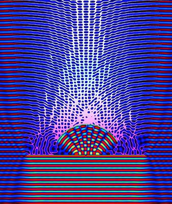 Quantum Resonance Art Print by Eric Heller