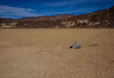 Photograph - Racetrack In Death Valley National Park by Jean Noren