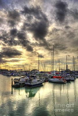 Kent Photograph - Ramsgate Harbour by Lee-Anne Rafferty-Evans
