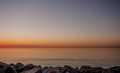 Reculver Photograph - Reculver Sunset by Dawn OConnor