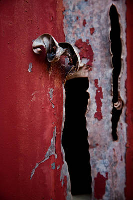 Photograph - Red Shed Series by Carole Hinding