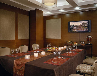 Mid Century Furniture Photograph - Restaurant by Robert Pisano