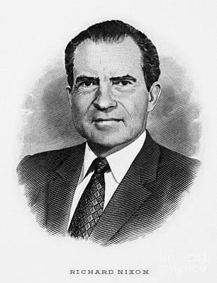 Richard Nixon (1913-1994) Art Print