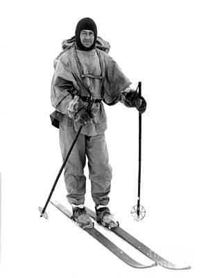 Ill-fated Photograph - Robert Scott, English Explorer by Photo Researchers
