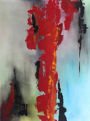 Painting - Rojo by Eric Chapman