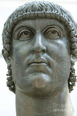 Capitoline Photograph - Rome Italy. Capitoline Museums Emperor Marco Aurelio by Bernard Jaubert
