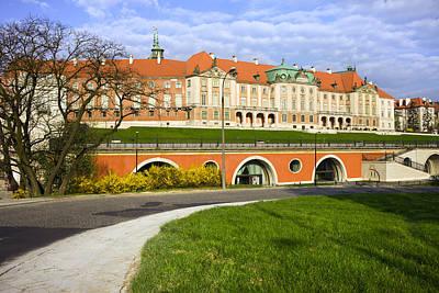 Reconstruction Photograph - Royal Castle In Warsaw by Artur Bogacki