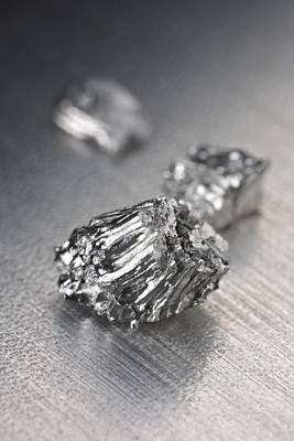 Platinum Photograph - Ruthenium by