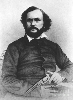 Samuel Colt, American Inventor Art Print by Science Source