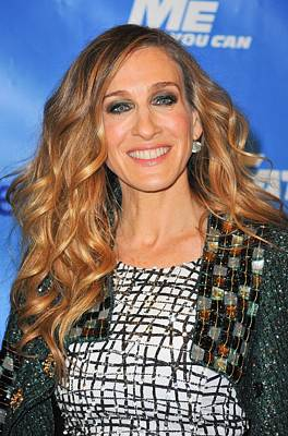 Sarah Jessica Parker In Attendance Art Print by Everett