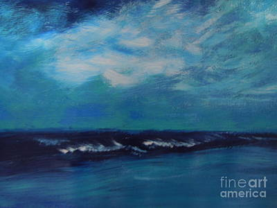 Painting - Seascape by Lam Lam