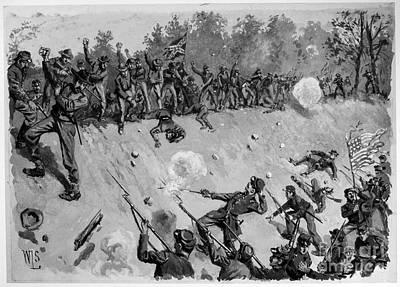 Second Bull Run, 1862 Print by Granger