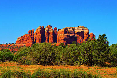 Photograph - Sedona Red Rocks by Bill Barber