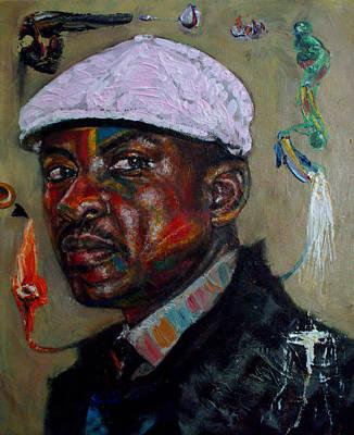 Self Portrait Art Print by Edward Ofosu