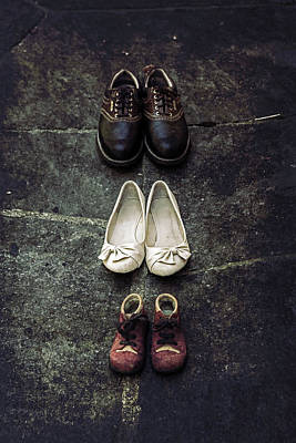 Dads Photograph - Shoes by Joana Kruse