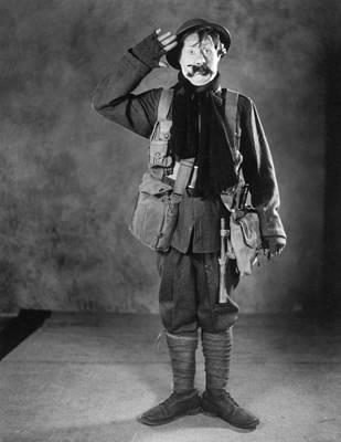 Silent Film Still: Uniforms Art Print by Granger