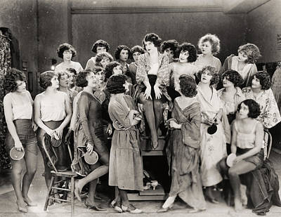 Silent Still: Showgirls Art Print