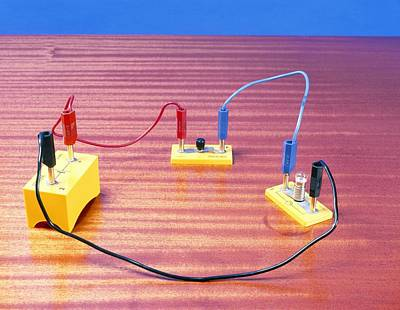 Simple Electrical Circuit Art Print by Andrew Lambert Photography