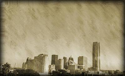 Cityspace Photograph - Skyline by Malania Hammer