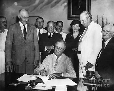 Photograph - Social Security Act, 1935 by Granger